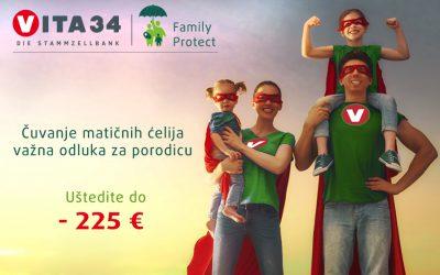 VITA Family protect: Čuvanje matičnih ćelija važna odluka za porodicu